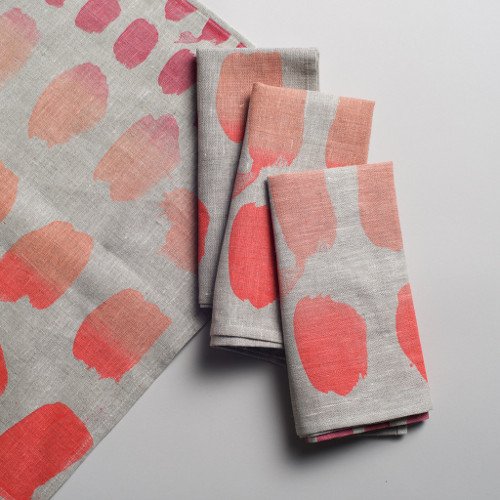 palette napkins via kishani perera blog