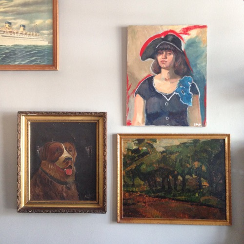 saint bernard portrait via rummage