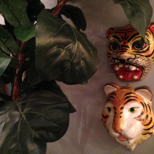 tiger masks via rummage