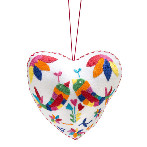 la artesana heart ornament via kishani perera blog