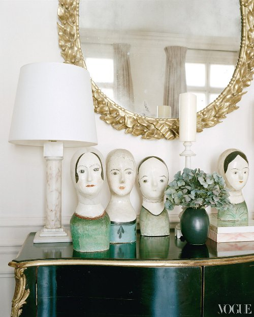 parisian perch figurines via kishani perera blog