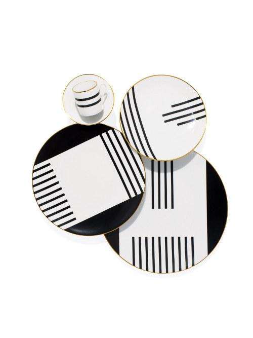 teatro porcelain dinnerware via kishani perea blog