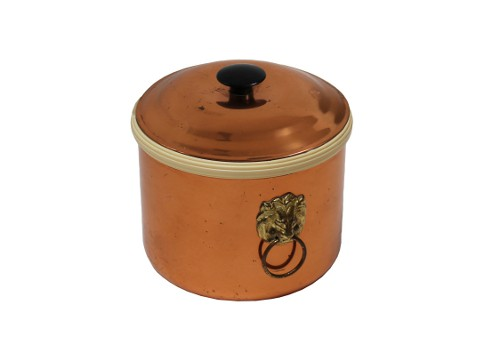 vintage copper ice bucket via rummage